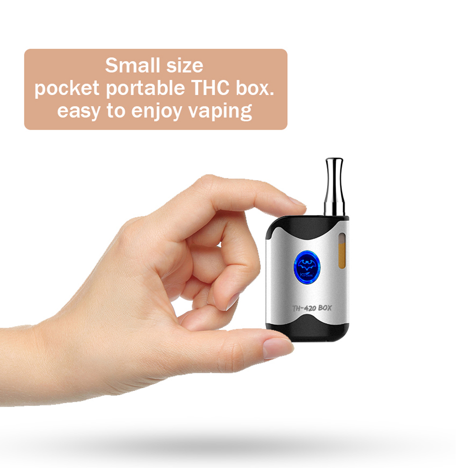 Original Kangvape TH-420 BOX mini vape 650mAh vaporizer 0 5ml CE3 atomzier  tank all-in-one Electronic Cigarette Kit for O Pen