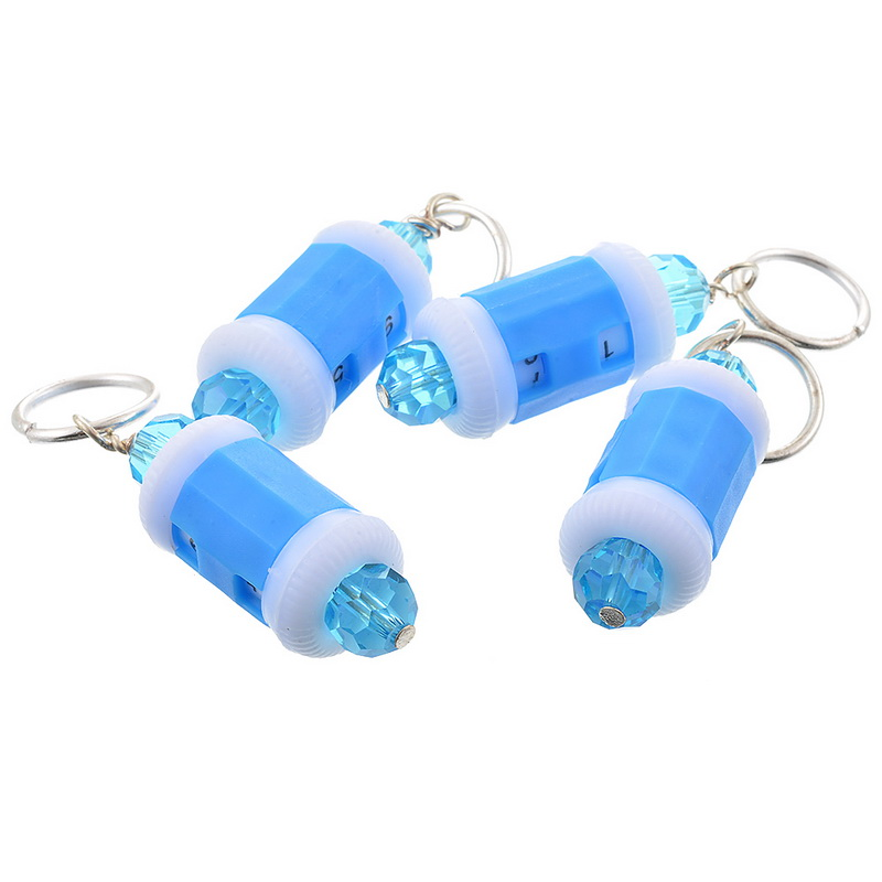 New 4pcs Stitch Marker and Row Counter TWO in ONE 10mm Hand Crafts Tools Supplies High Quality DIY Accessories