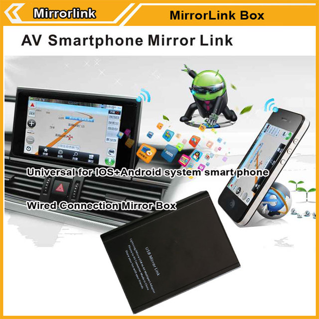 US $42 0 |Universal Car Mirror Link Adapter Smartphone Screen For Android  IOS-in Car Monitors from Automobiles & Motorcycles on Aliexpress com |