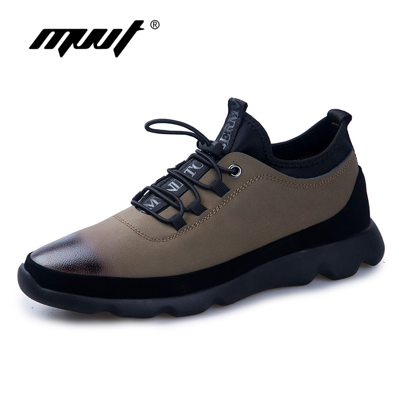 Brand Genuine leather Casual Shoes Male Shoes For Men Adult Autumn Fashion Design Wear-Resisting Footwear Non-Slip Sneakers vesonal 2017 brand casual male shoes adult men crocodile grain genuine leather spring autumn fashion luxury quality footwear man