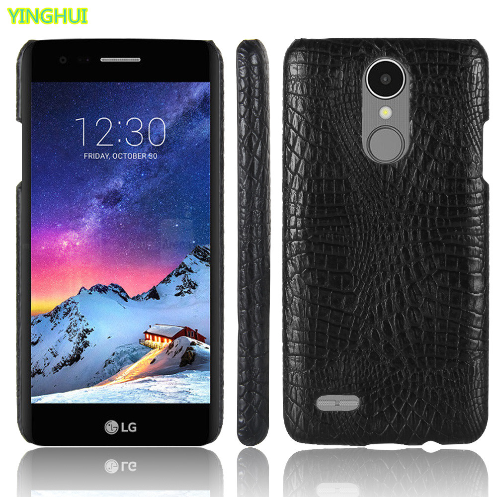 buy popular d53f7 175c9 For LG K7 2017 X230 X 230 phone bag case Luxury Crocodile Skin PU leather  Protective Case Cover For LG K 7 (2017) LGX230 LG-X230