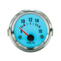 Free Shipping 52mm Electrical Luminescent Volt Meter Volts Gauge With Step Down Transformer Car Meter Auto