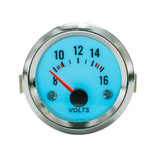 Frete grátis 52mm Luminescente Elétrica volt medidor volts calibre com step-down transformer car auto meter medidor YC100942