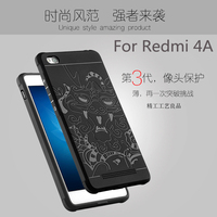 Luxury Phone Case For Xiaomi Redmi 4A High Quality Silicone Hard Protective Back Cover Cases For
