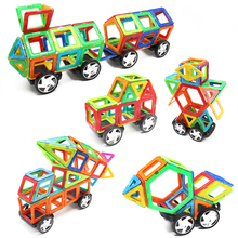 Espeon Regular Size Truck Train Models Enlighten Magnetic Building Blocks Construction Educational Bricks Toys for Children