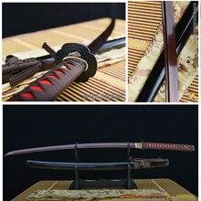 唐 機能ハンド madefull フットレスト鋼ダマスカス鍛造で実用カタナ日本のサムライ剣鉄鍔