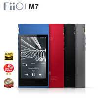 FiiO M7 alta Res Audio sin pérdidas de reproductor de música MP3 Bluetooth4.2 aptX HD tecnología LDAC pantalla táctil con FM Radio compatible con nativos DSD128