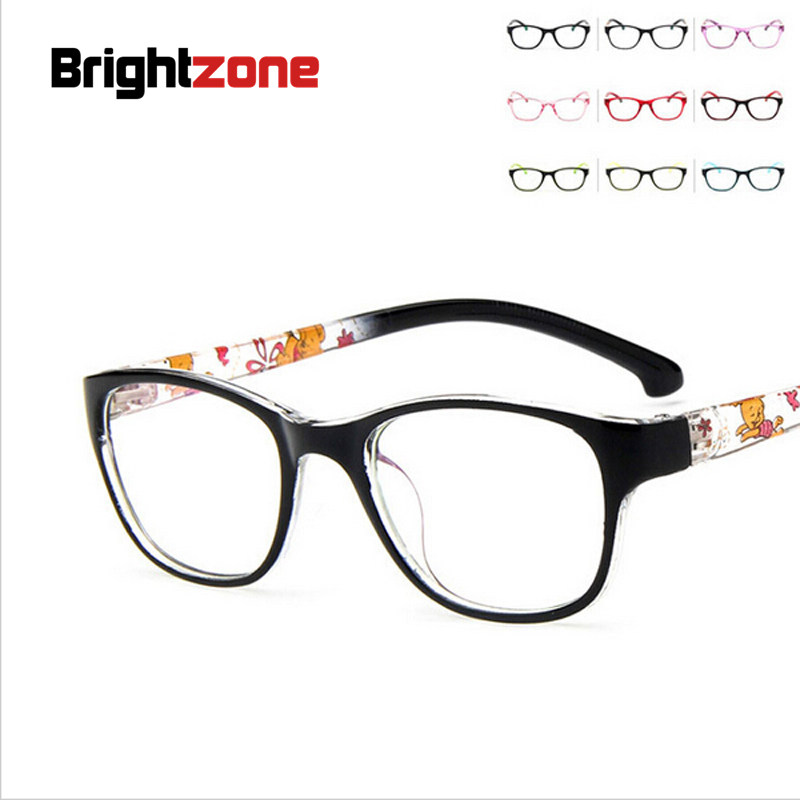 8f3bbd33ba1 2017 New Kids Boys Girls Plain Glasses Cute Children Frame Glasses Myopia  Rx Eyeglasses Frames Eyewear