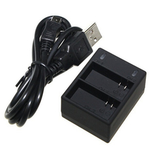 Dual-Charger Battery Gopro Mini-Usb Action-Camera Hero for AHDBT-301