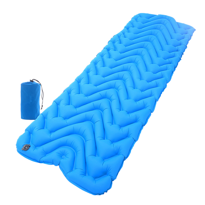 Ultra-Light Outdoor Automatic Inflatable Sleeping Pad Tpu Camping Tent Inflatable Cushion Camping M-Type Insulation Insulation