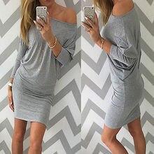 Autumn Winter Long Sleeve Tight Slim Cotton Womens Bodycon Mini Wrap Dress Casual Sexy Short Dress Basic inside wear