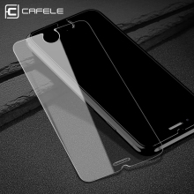 hot deal buy cafele hd clear screen protector for iphone 7 plus 0.3 mm 2.5d curved edge tempered glass protective film for iphone 7 6 6s plus