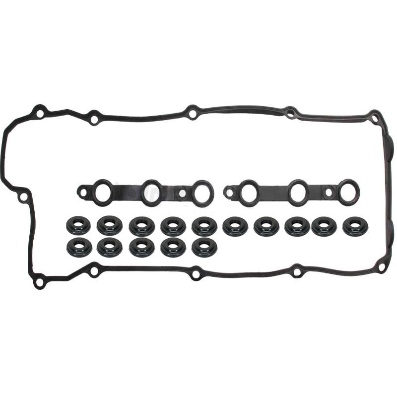 Valve Cover Gasket Set With 15 Bolt Grommets FOR BMW E36 E39 Z3 M52 S52 2.8 3.2L
