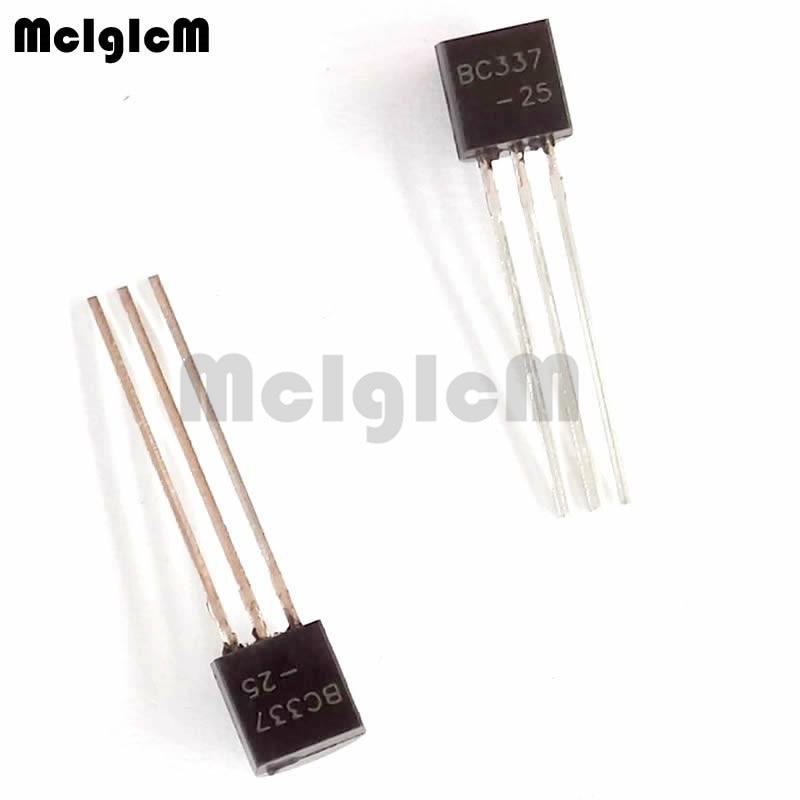 MCIGICM 100PCS BC337 BC327 each 50pcs PNP NPN Transistor TO-92 Triode Transistor BC337-25 BC327-25MCIGICM 100PCS BC337 BC327 each 50pcs PNP NPN Transistor TO-92 Triode Transistor BC337-25 BC327-25