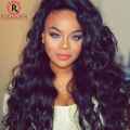 7A Glueless Full Lace Human Hair Wigs For Black Women Loose Curly Wave Lace Front Human Hair Wigs Brazilian Virgin Hair Lace Wig