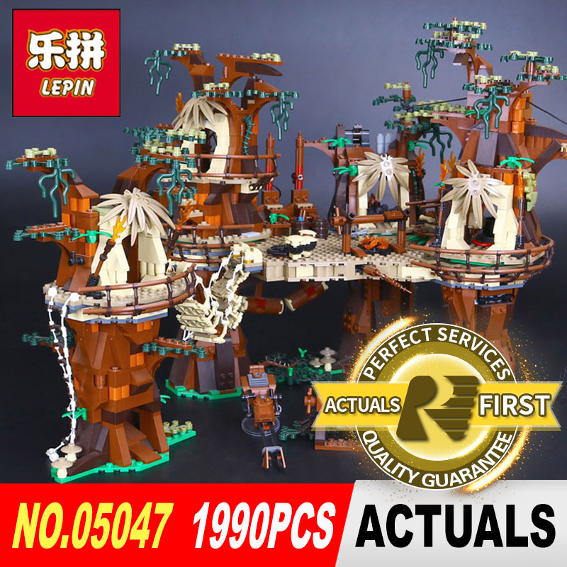 DHL Lepin 05047 Star Wars Village Building Blocks Juguete para Construir Bricks Model Funny Toys Compatible with legoed 10236 dhl new lepin 06039 1351pcs ninja samurai x desert cave chaos nya lloyd pythor building bricks blocks toys compatible 70596