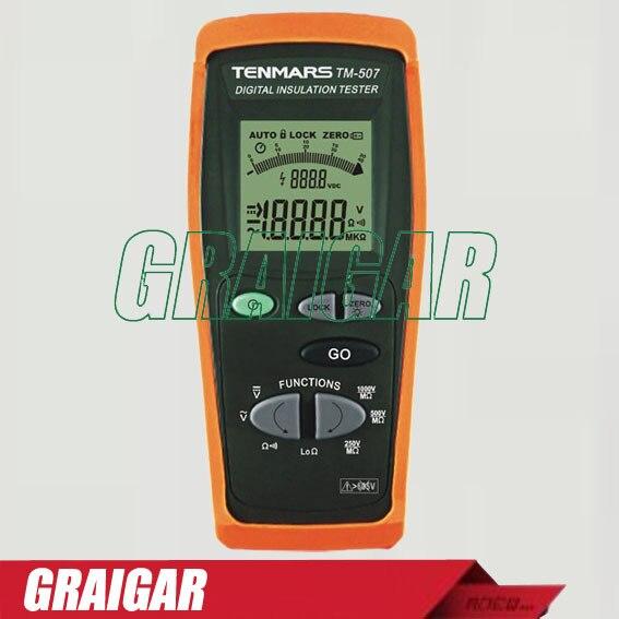 Testeur d'isolation numérique TM-507