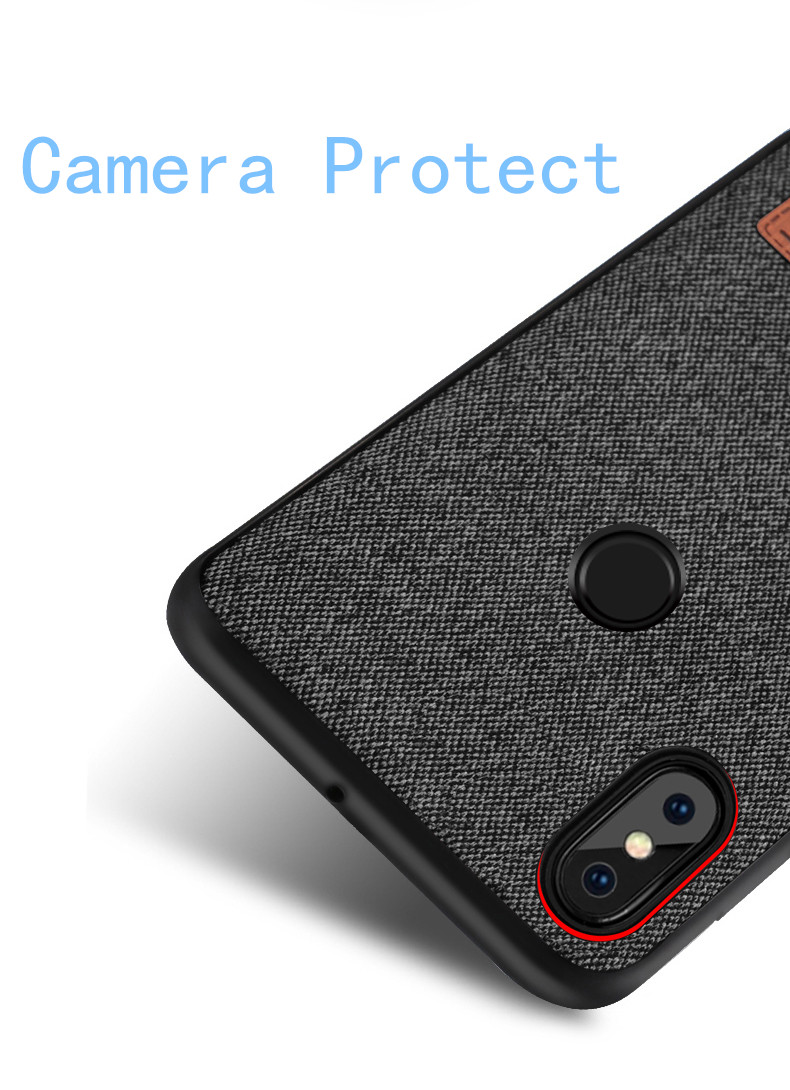 best sneakers 4e38a e9145 Details about MOFi Shockproof Silicone Fabric Case Business Style for  Xiaomi Redmi Note 5