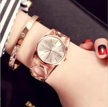 Marca Moda escavado Rotativo à prova d' água de Luxo Relógio de Strass Relógio Relógio De Quartzo Casual Mulheres Relógio De Pulso Relogio