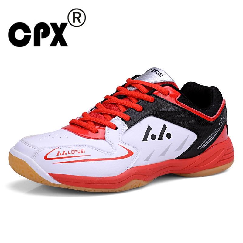 CPX Professional Badminton Shoes For Men Women Badminton Sneakers Lefusi Couples Badminton Sneaker Indoor Sport Tennis Shoes sneakers