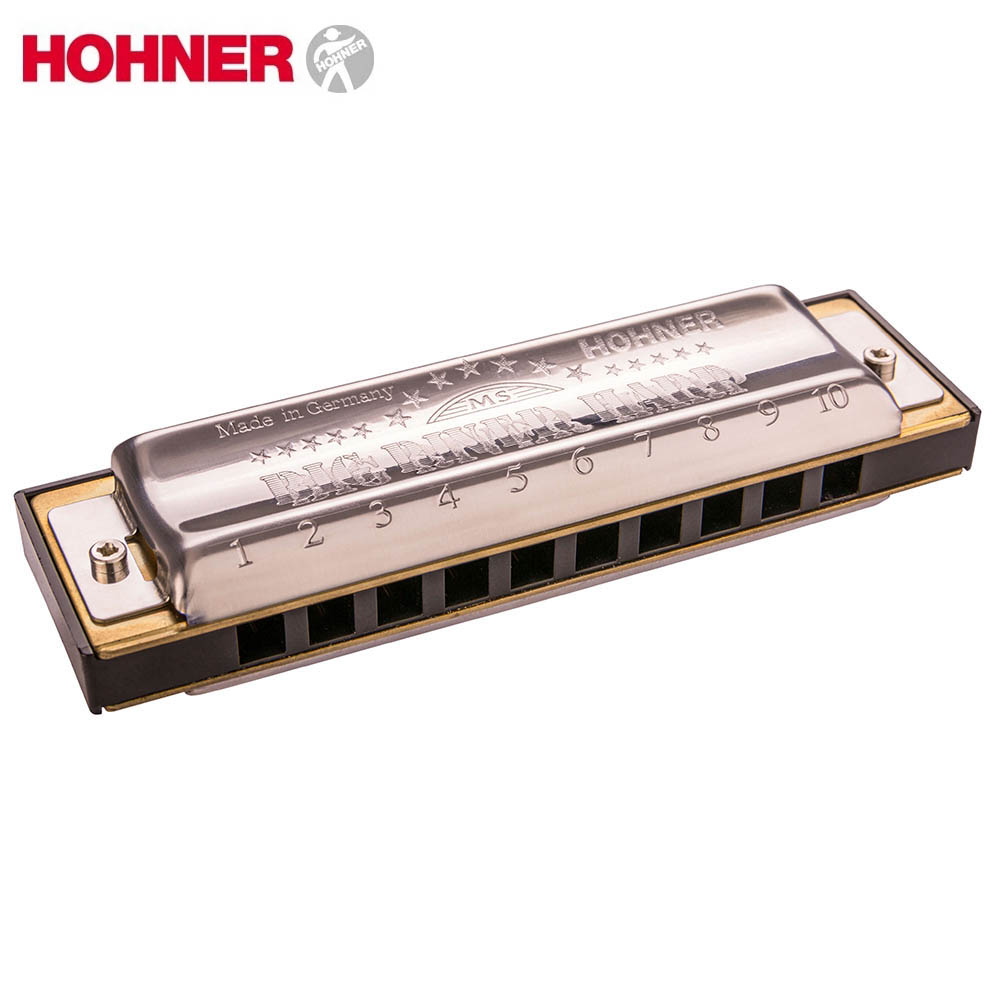 Hohner Big River Diatonic 10 Holes Harmonica Mouth Organ Instrumentos Diatonic Blues harp Key Of C