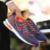 Casual Hombres de Malla Transpirable Zapatos Fly Armadura Deporte de Colchón de Aire Zapatos Para Caminar Plana Para Hombre Entrenadores Zapatillas Hombre Cesta 45 Negro