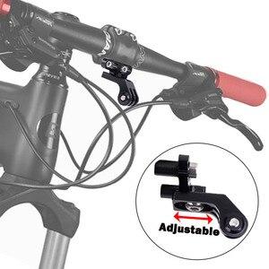 Image 3 - Jinserta 손전등 홀더 gopro 7 6 5 카메라 줄기 핸들 바 확장 자전거 어댑터 mtb 도로 자전거 액세서리