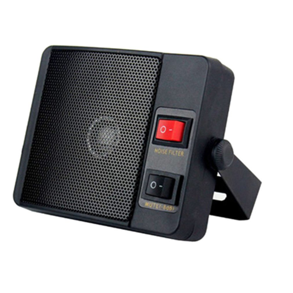 3.5mm Diamante Heavy Duty TS-750 Altoparlante Esterno Per Il Walkie-talkie QYT CB Two Way Radio Auto Mobile Radio