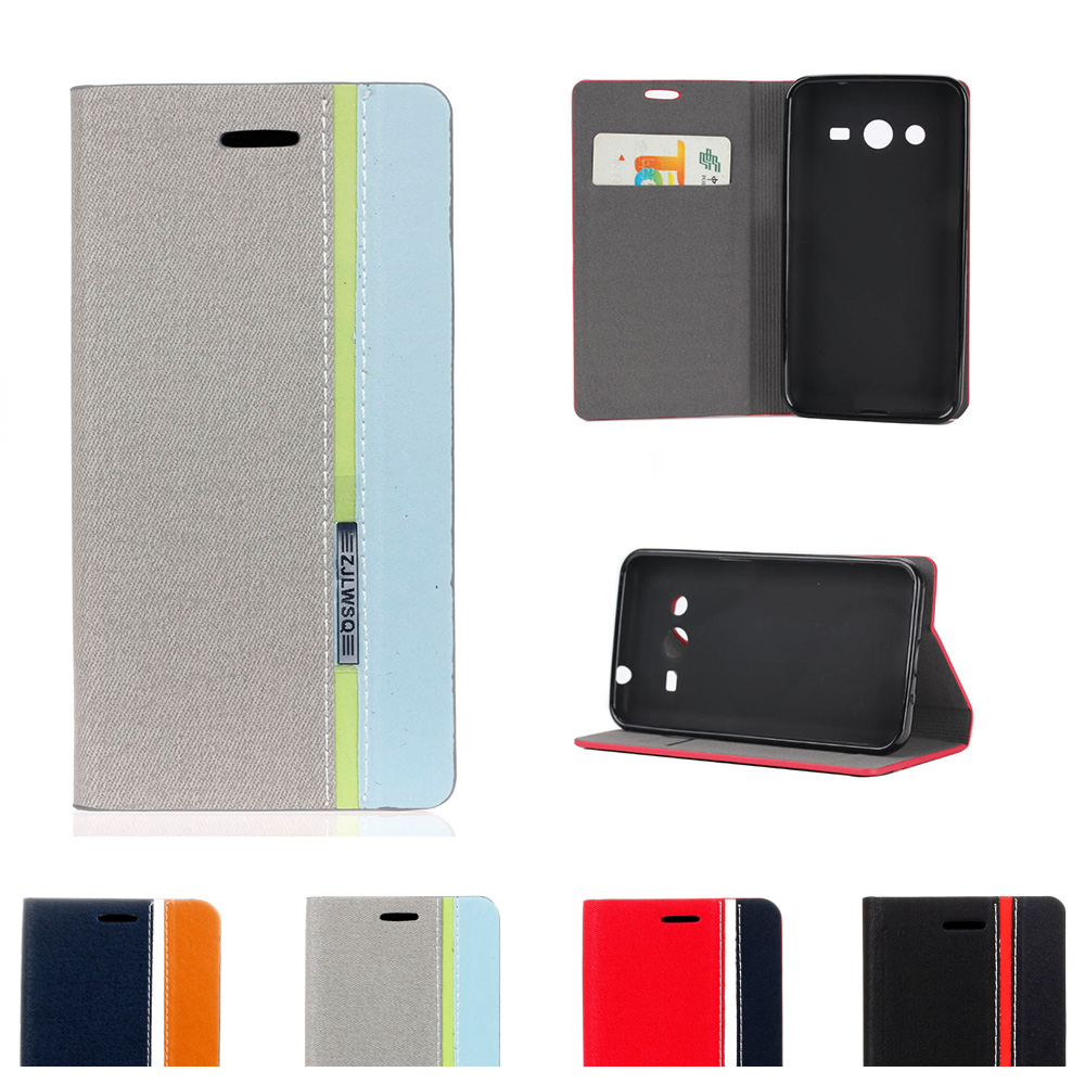 Case for <font><b>Samsung</b></font> Galaxy Core Plus G350 SM-G350 Flip Phone Leather <font><b>Cover</b></font> for <font><b>Samsung</b></font> Star Advance <font><b>G350E</b></font> SM-<font><b>G350E</b></font> Star 2 Plus image