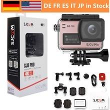 SJCAM SJ8 Pro 4 к 60fps двойной сенсорный экран wi fi действие камера 2,3 дюймов сенсорный экран широкий формат EIS 8X цифровой зум 30 м водонепроница