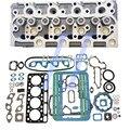 V1902 полная головка цилиндра + полная прокладка для генераторов Kubota GV3170 GV3190
