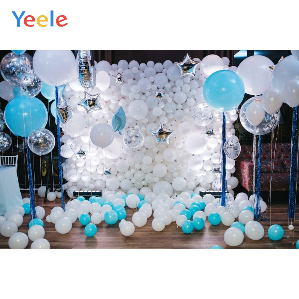 Yeele Balloons Interior Scene Wall Party Decoration Photography Backgrounds Customized Backdrops For Photo Studio