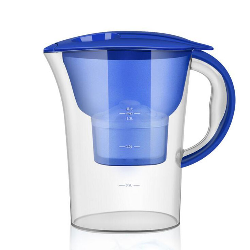 Filtered water purifier household water purifier kitchen activated carbon filter portable water filter Filter kettle цена