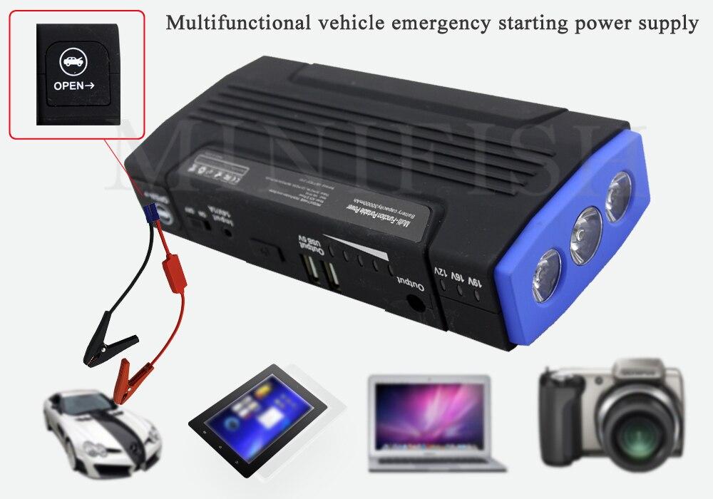 MiniFish meilleures ventes de produits 68000 mAh 600A chargeur de batterie portatif pour mini voiture Saut Démarreur Booster batterie externe Pour Un 12 V Voiture - 5