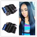 8A Brazilian Virgin Hair With Closure Silky Straight Human Hair Extensions 4Pcs With Closure Unprocessed Hair Bundles