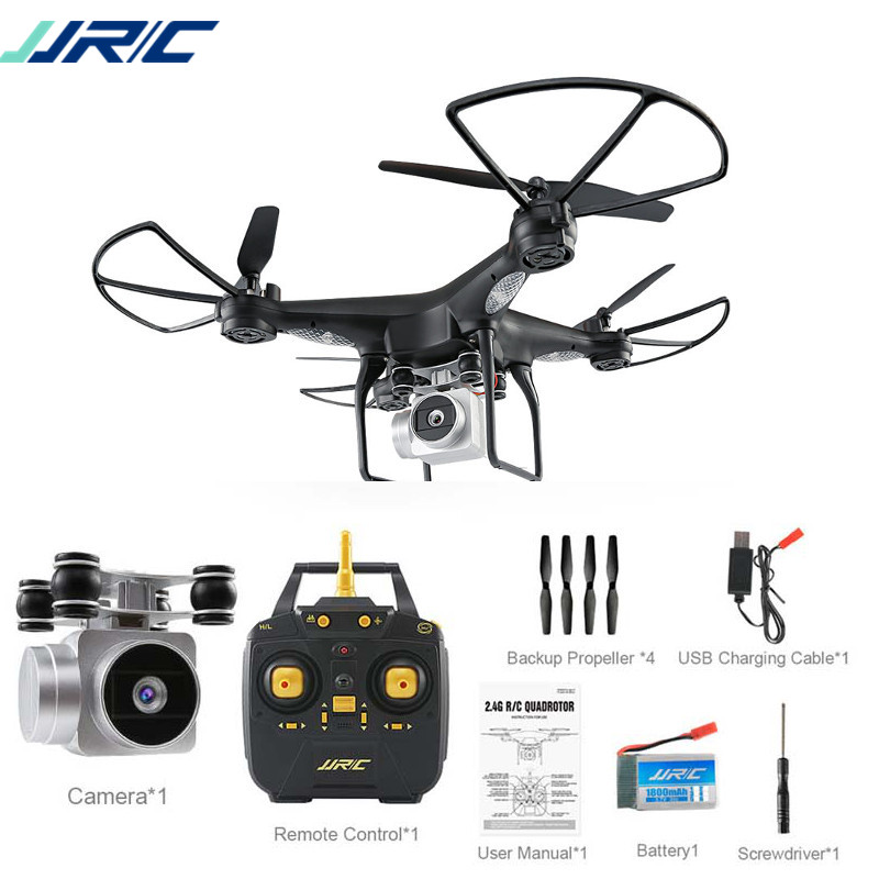 JJRC H68 Bellwether RC Drone Quadcopter WiFi FPV 2MP 720P HD Camera 20mins Flight Time RTF Mode 2 Altitude Hold 6-Axis Headless jjrc h68 rc drone with 720p hd camera 2 4g fpv rc quadcopter drone altitude outdoor hold headless mode 3d flip 20mins fly time