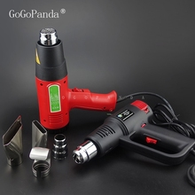 Industrial Electronic Digital Display Heat Gun Blower Air Drying Film Baking Plastic Welding Torch 220V 2000W/1600W