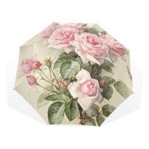 Vintage Shabby Floral Women Ra