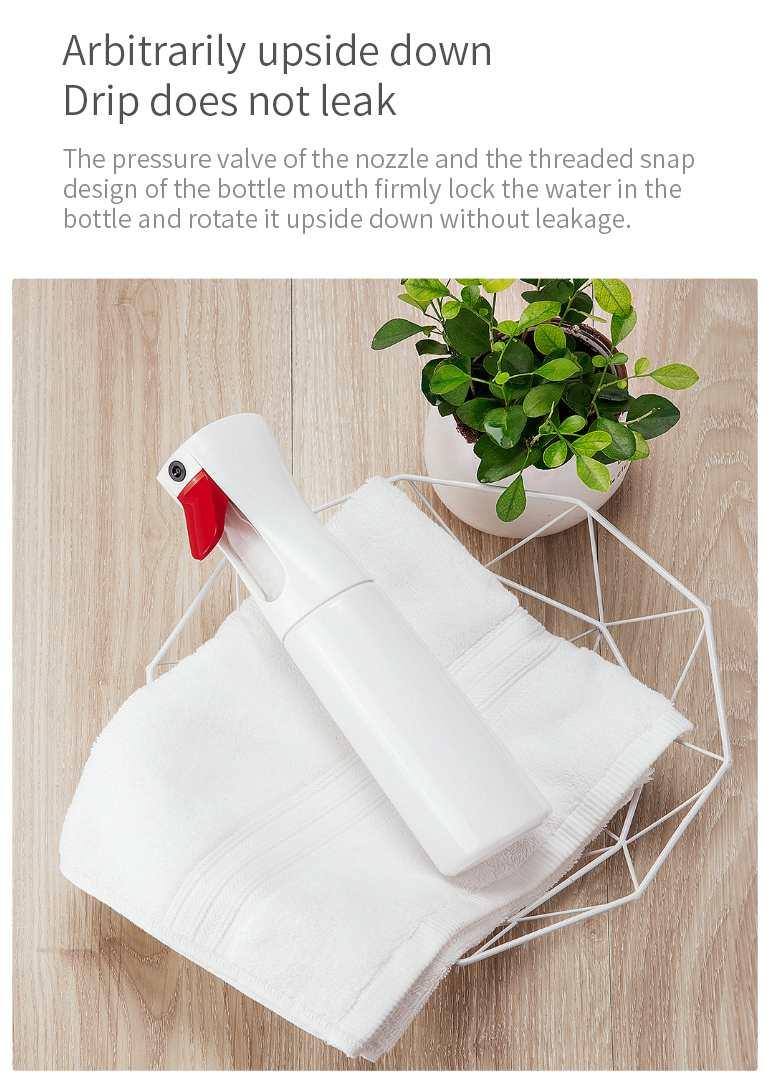 XIAOMI YIJIE Time-lapse Sprayer Bottle Fine YG-01 Mist Water Flower Spray Bottles Moisture Atomizer Pot Housework Cleaning Tools (5)