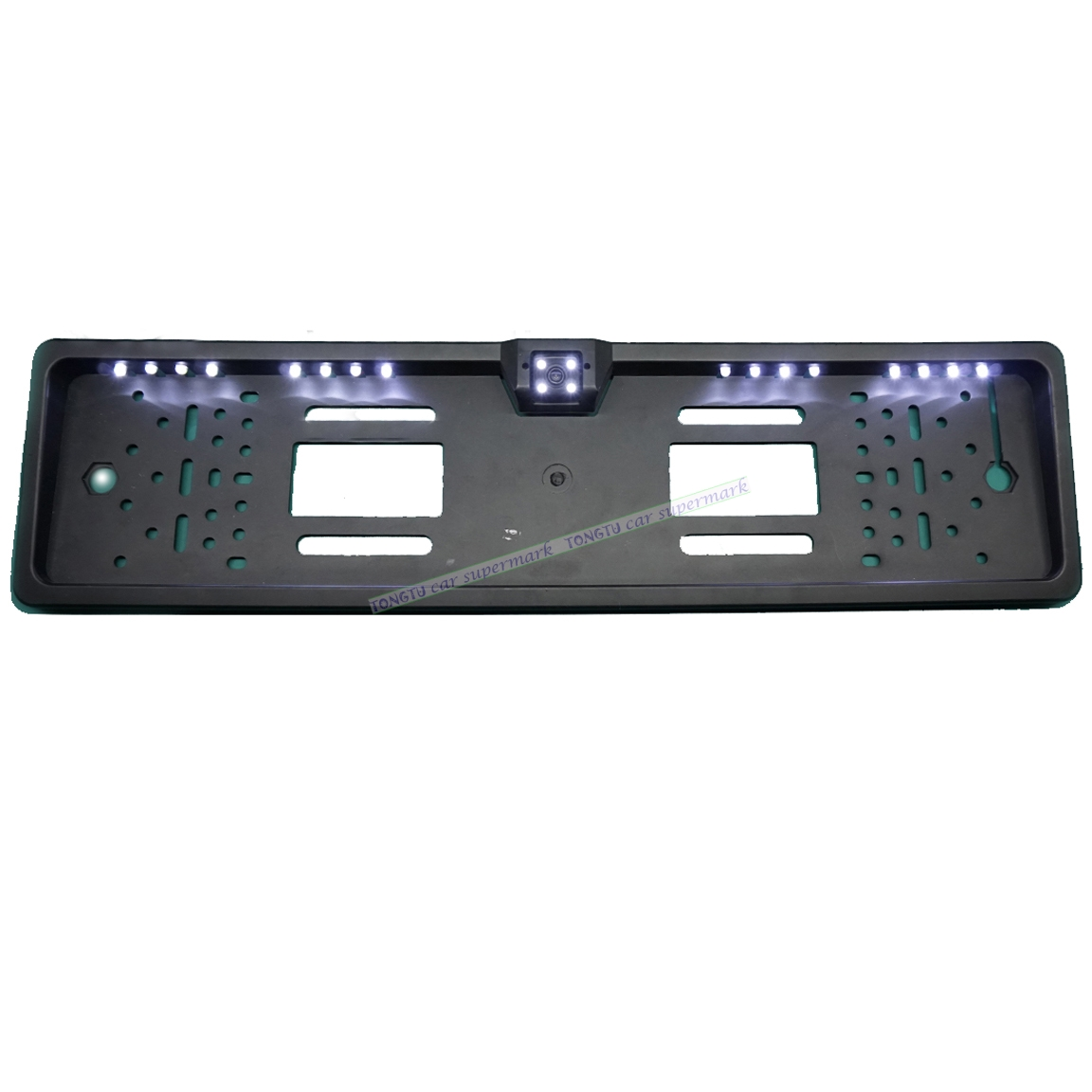 Universal 16 LEDs License Plate Frame Auto Reverse Rear View Backup font b Camera b font