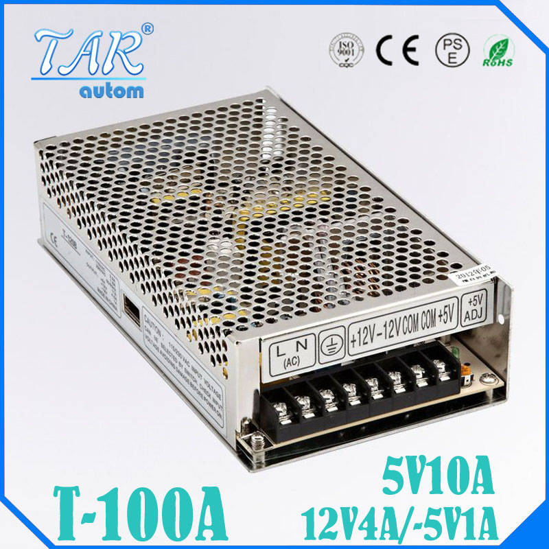 ФОТО T 100W A Triple output 5V 12V -5V Switching power supply smps AC to DC