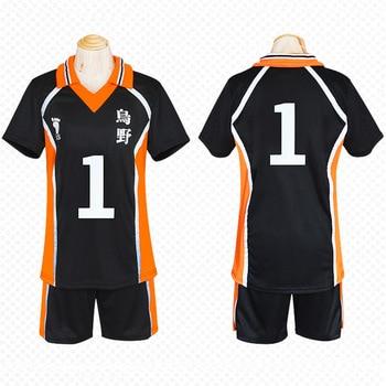 Śliczne Unicorn Haikyuu nr 1 Sawamura Daichi Jersey Unisex T shirt Karasuno wysokiej szkolnego klubu kostium cosplayowy anime jednolite