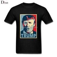 Donald Trump T Shirt Men Male Casual Custom Short Sleeve Valentine S Big Size Couple T
