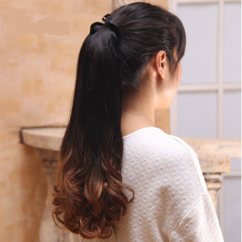 Image result for ombre ponytail