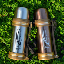 1200ML Big Volume 304 Stainless steel Vacuum Thermos water bottle insulation flask Portable outdoor travel Thermal