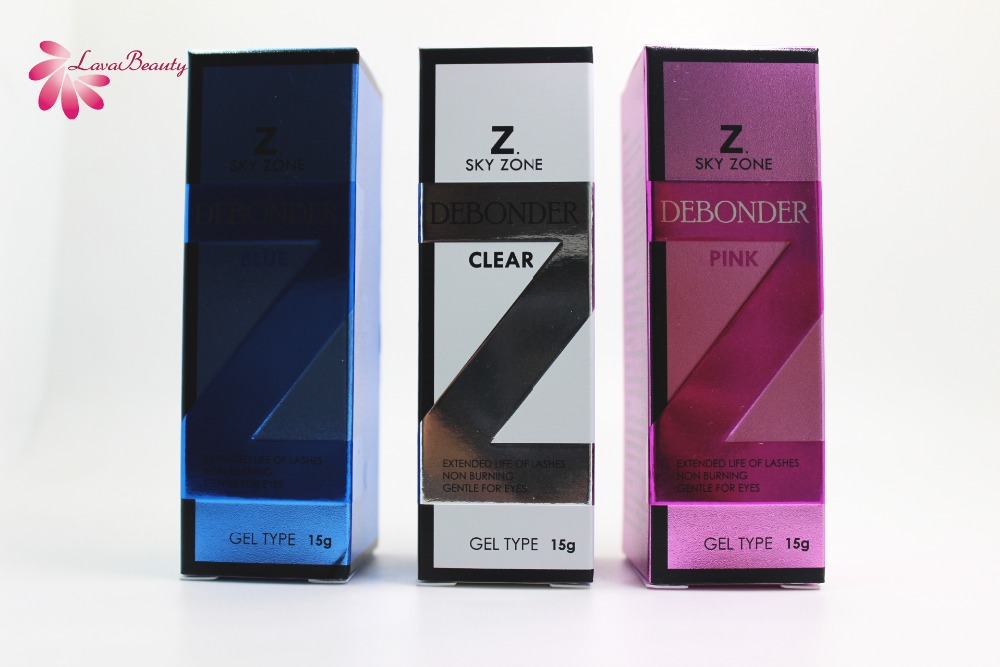 Free Shipping Original Korea 5 Bottles Sky Zone Debonder Fast Sensitive Eyelash Extensions Sky Glue Gel