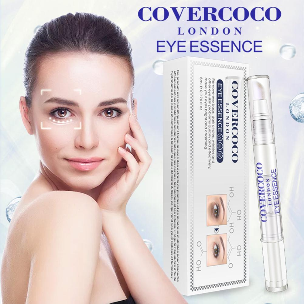 COVERCOCO Water Needle Hyaluronic Acid Replenishment Compact Smearing Eye Dilute Dark Circles Eye Bag Care For Any Skin