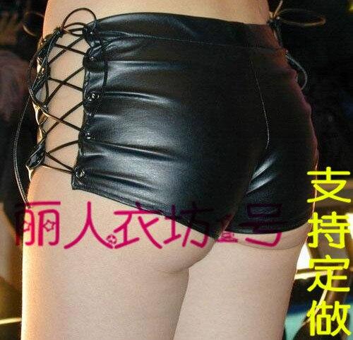 Горячий сексуальный пуле размер пу малоэтажного талии микро-мини ну вечеринку шорты леди эротическое Culb носить простой бесплатная доставка FX1041