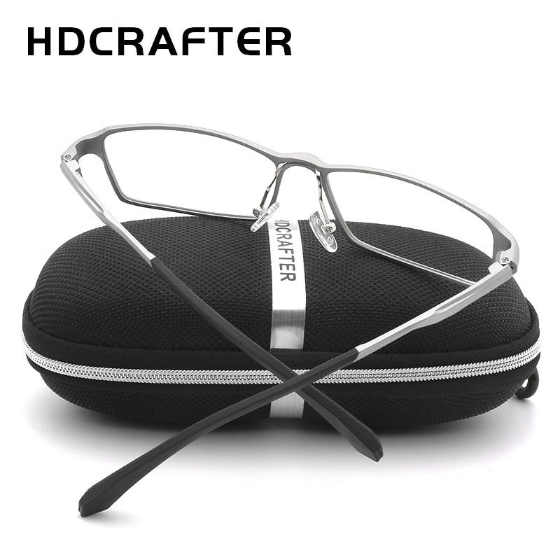 HDCRAFTER 150mm titane cadre optique recette lunettes de Prescription hommes dioptrie myopie hyperopie lunettes photochromiques lunettes - 3
