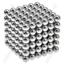 Nuevo Estilo 216x5mm Imán Mágico Magnética DIY Bolas Neodimio de la Esfera Del Rompecabezas Del Cubo